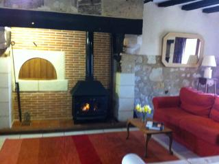 Cosy evenings in The Grange, log fires and wood fired central heating.