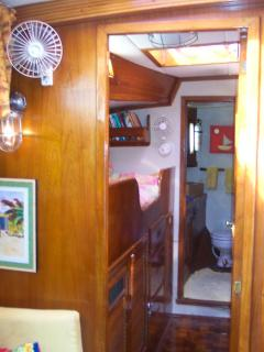Forward Stateroom with half bath