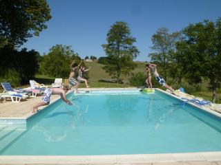 Hilltop Farmhouse with large pool