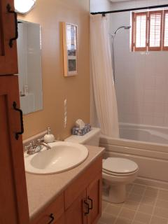bathroom 2 with soaker bathtub/shower