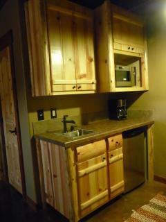 Mini- Kitchen in Basement