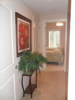 Hallway to Twin Bedroom and Guest/Twin Bathroom