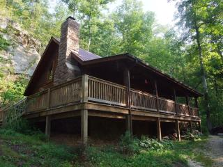 Big Rock Log Cabin, Slade