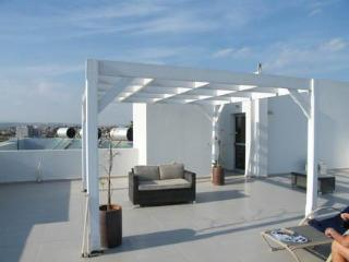 Enjoy morning coffee on the roof top terrace