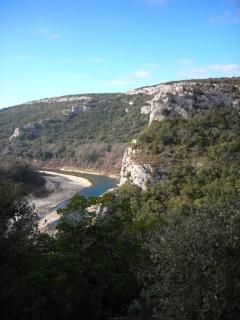 Gorges of the Gardon, walk to them from the village