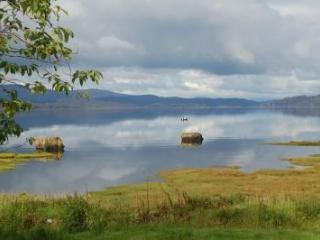 View down Loch from Gran\'s