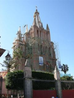 One of many historical landmarks in San Miguel
