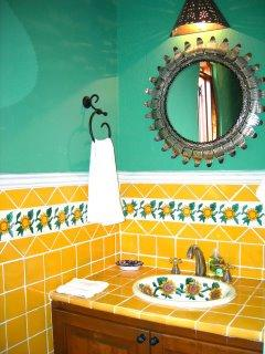 One of the six Bathrooms