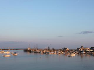 Beautiful Provincetown Harbor at steps away