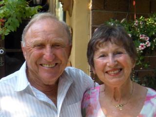 Hosts Eddy and Bess Hoffman