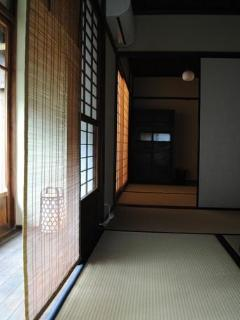 View the Engawa and 3 tatami room from 6 tatami room