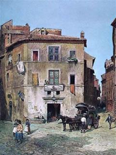 Via dell'Orso, Rome, late 19th century