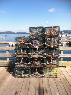 local lobster pots