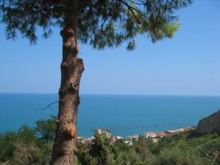 Coastal apartment with stunning sea view, San Vito