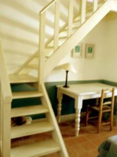 Staircase in Duplex Room