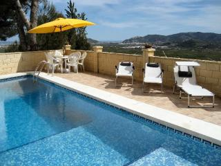 Villa with panoramic views and private pool