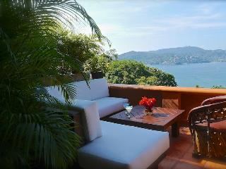 Spectacular Views of the Bay & Mts, w/Luxury Style, Zihuatanejo