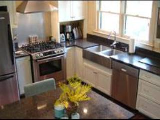 UP SCALE  KITCHEN W/ VIEW OF RIVER FROM WINDOW