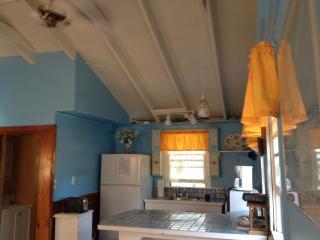 Bright, sunny, open kitchen area
