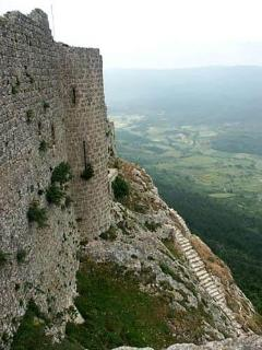 The Cathar legend is part of the history of Beaufort.