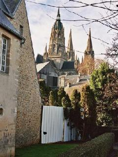 The cathedral towers - Bayeux.