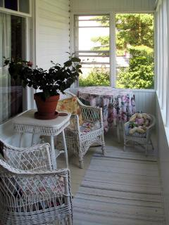 Sunny Front Porch