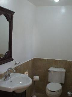 Half Bath with Toilet and Vanity.. Sorry, site has cropped the picture badly.