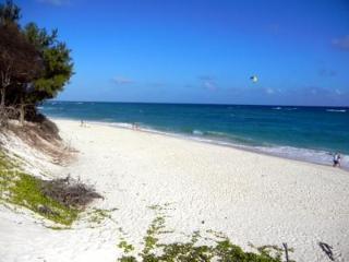 Silver Sands Beach, 1 minute walk away