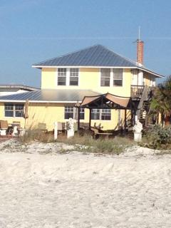 Real beachfront property...no need to cross the street to get to the beach.
