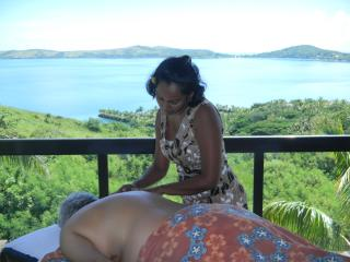 Massage on Your Terrace- The Good Life