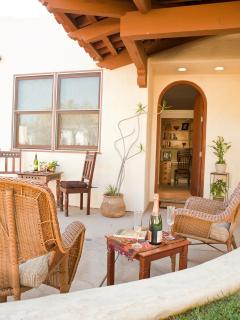 Relax on our Beautiful Patio