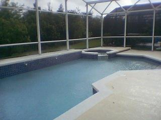 Pool with screening Conservation  Area