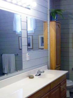 Very Spacious Main Level Bathroom!