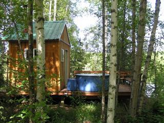Hot Tub at Cabin 1