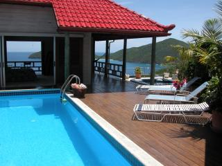 Magic Castle  2 BR Villa above  Little Bay Beach, Tortola