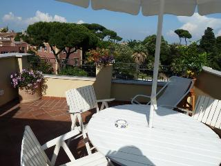 The Terrace, overlooking the park close to the villa