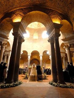 Neighbourhood - A suggestive wedding in the beautiful Mausoleum of S. Costanza