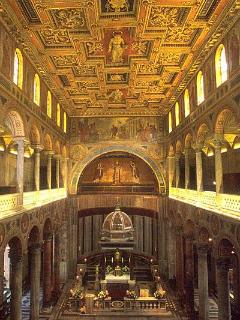 Surroundings -The ancient Basilica of st. Agnes fuori le mura -beautiful moaics and tomb of S. Agnes