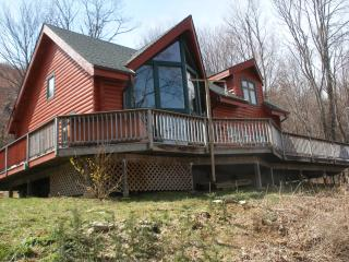 Secluded Log Cabin, Gorgeous views, Hot tub!