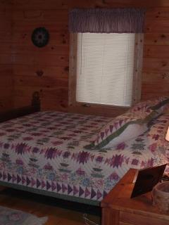 Downstairs back bedroom