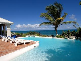 Beachfront  hacienda-styled 4 bedroom villa at Baie Rouge