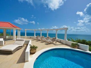 TERRASSE DE MER...Gorgeous villa, breathtaking view of Baie Rogue Beach., St. Maarten