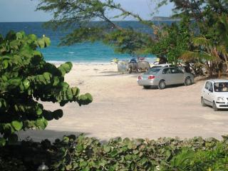 CARIBBEAN RIVIERA #4...affordable beach front on fun filled Orient Beach!, Orient Bay