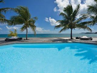 INTERLUDE... Spacious, Elegant, BEACHFRONT St Martin rental villa, St. Maarten