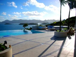 MES AMIS...Spectacular Ultra Deluxe cliffside masterpiece! Breathtaking views! Absolutely stunning 11 BR estate on 7 acres!, St. Maarten