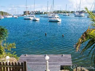 CORALITA...4 BR casual villa in French St Martin on  Oyster Pond