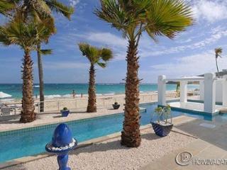 Corrine * CORAL BEACH CLUB... Dawn Beach... pool on patio of beach front villa