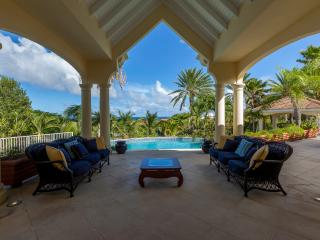 ORIENT VIEW...  gorgeous 4 BR villa overlooking Orient Bay, perfect for large families!