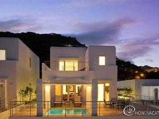 TRITON...at Coral Beach Club... beautiful new contemporary beachview villa at Coral Beach Club, Philipsburg