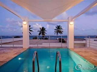 TRITON...at Coral Beach Club... beautiful new contemporary beachview villa at